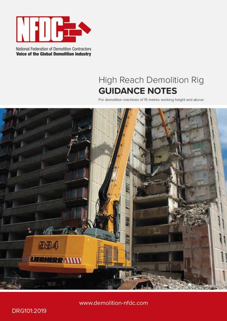 High Reach Demolition Rig